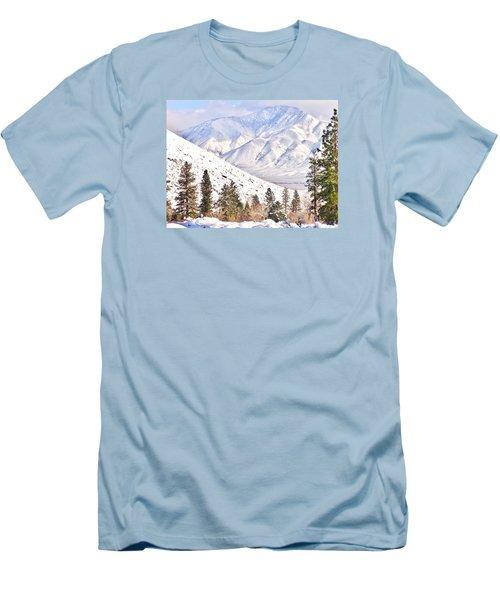 Natural Nature Men's T-Shirt (Slim Fit) by Marilyn Diaz