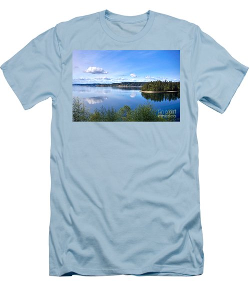 Serenity Men's T-Shirt (Slim Fit) by Sean Griffin
