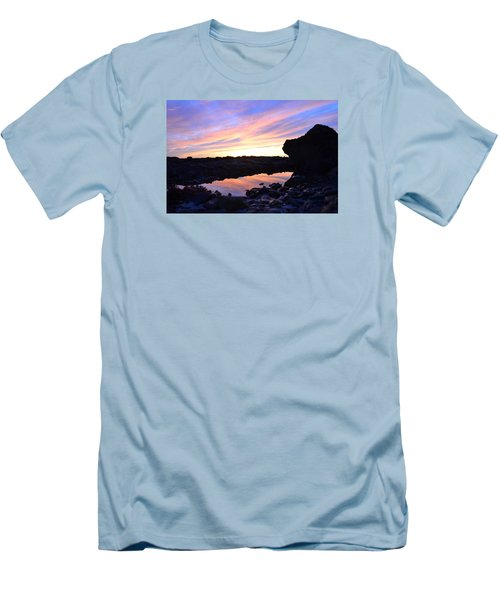 Men's T-Shirt (Slim Fit) featuring the photograph Sunset by Alex King