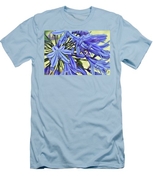 the lily of the Nile... Men's T-Shirt (Slim Fit) by Werner Lehmann