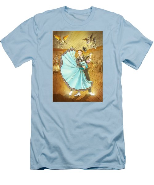 The Magic Dancing Shoes Men's T-Shirt (Slim Fit) by Reynold Jay