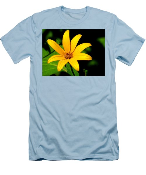 Men's T-Shirt (Slim Fit) featuring the photograph Wild Flower by Eric Switzer
