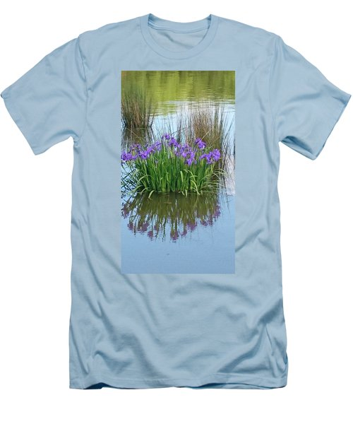 Iris Men's T-Shirt (Slim Fit) by Sobajan Tellfortunes