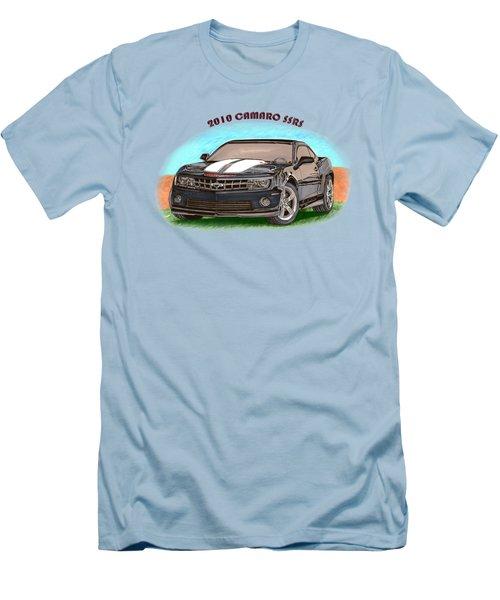 Camaro Ss  Rs Men's T-Shirt (Slim Fit) by Jack Pumphrey