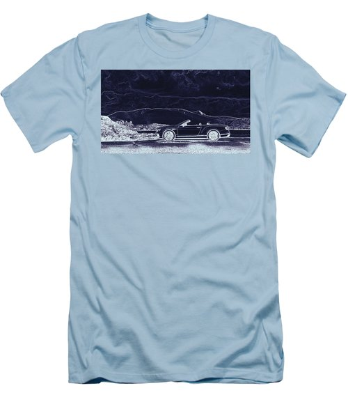 Bentley Continental Gt Men's T-Shirt (Athletic Fit)