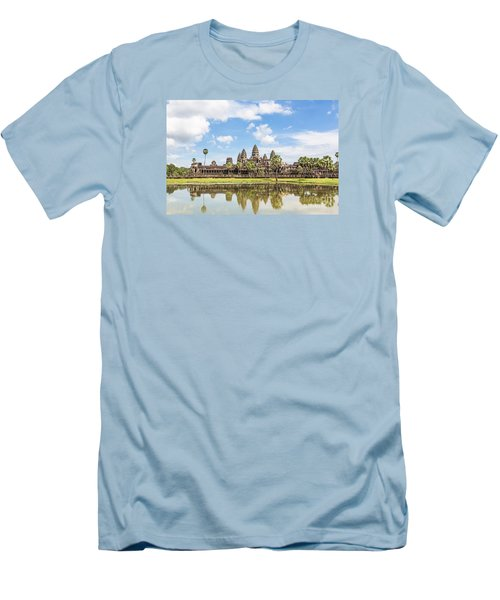 Angkor Wat Men's T-Shirt (Athletic Fit)
