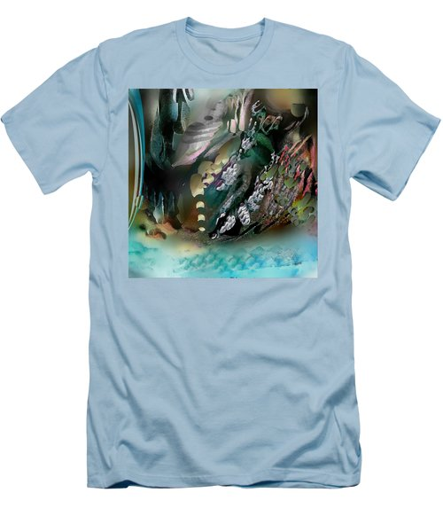 Divine Colors Of Art Men's T-Shirt (Athletic Fit)