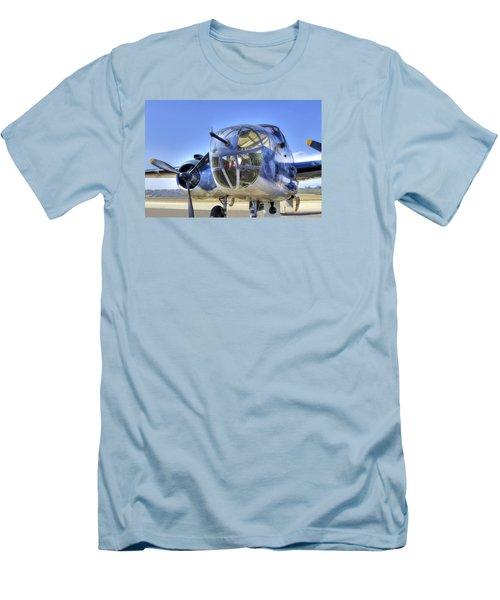 B-25 Men's T-Shirt (Slim Fit) by Joe  Palermo