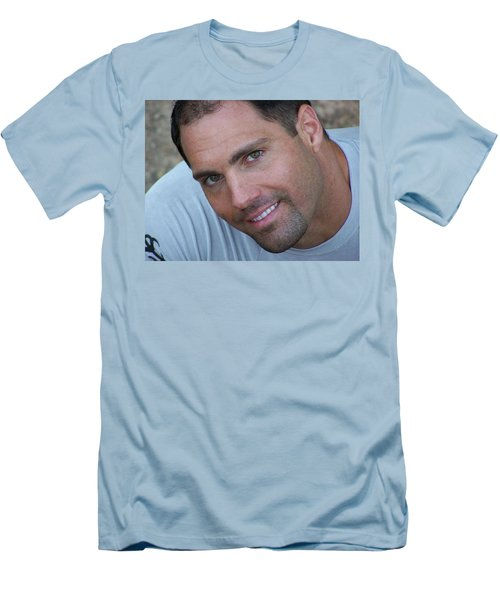Men's T-Shirt (Slim Fit) featuring the photograph Franco Corelli by Jake Hartz