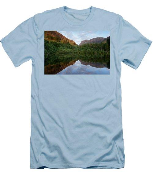 Golden Light In Glencoe Men's T-Shirt (Athletic Fit)