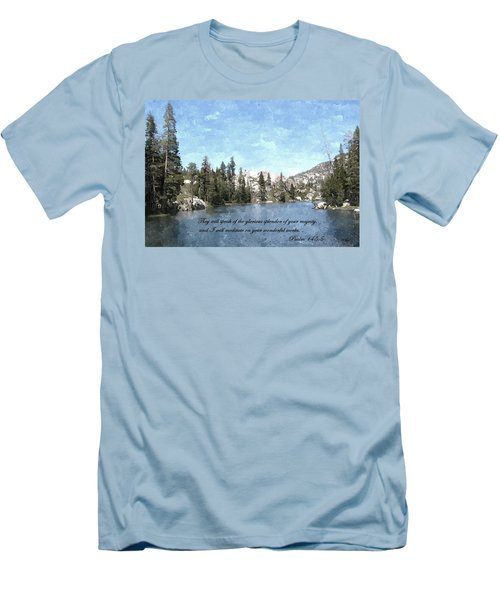 Inspirations 1 Men's T-Shirt (Slim Fit) by Sara  Raber