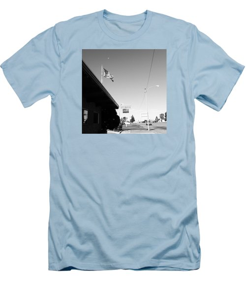 Small Town Life Men's T-Shirt (Athletic Fit)