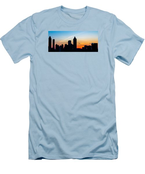 Sunset In Atlanta Men's T-Shirt (Athletic Fit)