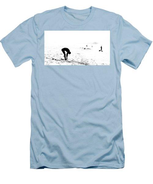 Surfer Men's T-Shirt (Slim Fit) by Nicholas Burningham