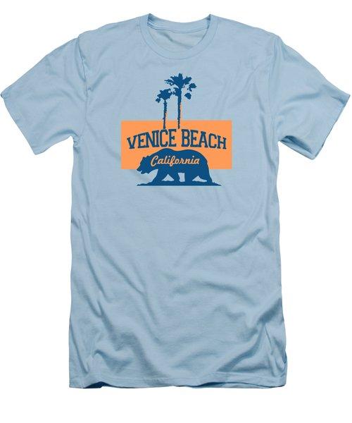 Venice Beach La. Men's T-Shirt (Athletic Fit)