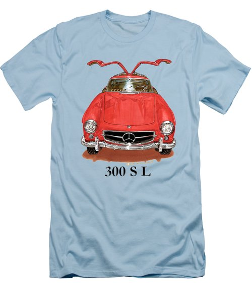 300 Sl Mercedes Benz 1955 Men's T-Shirt (Athletic Fit)