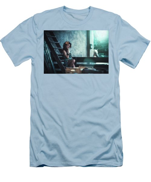 Men's T-Shirt (Athletic Fit) featuring the photograph ... by Traven Milovich