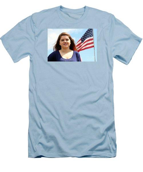 3660 Men's T-Shirt (Slim Fit) by Mark J Seefeldt