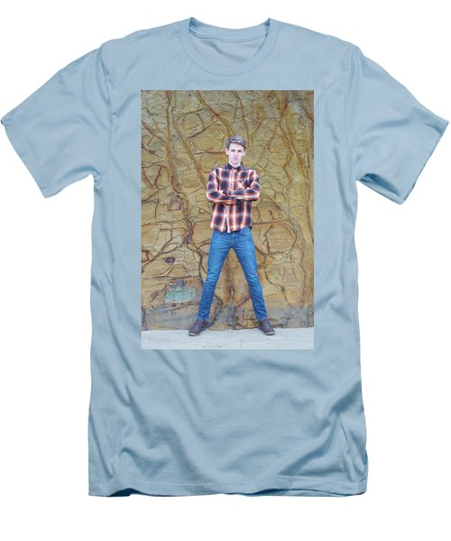 3738 Men's T-Shirt (Slim Fit) by Angi Parks
