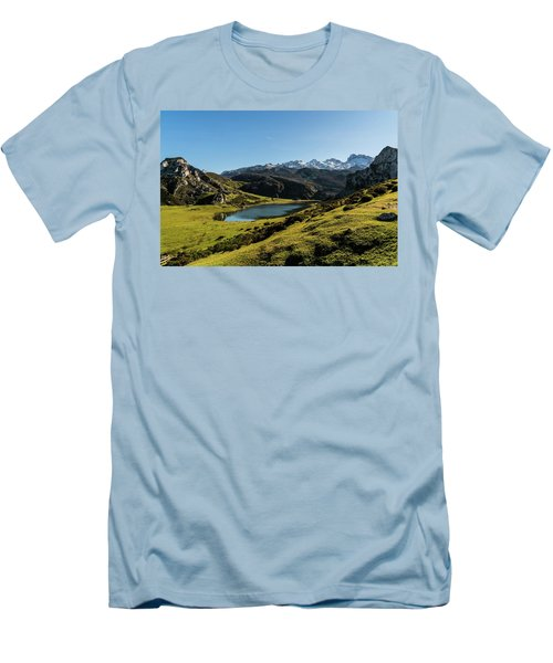 Glacier Formed Men's T-Shirt (Athletic Fit)