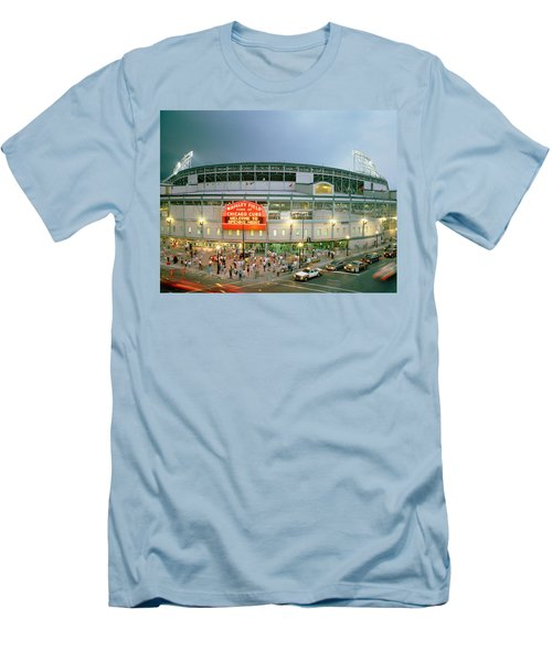 High Angle View Of Tourists Men's T-Shirt (Slim Fit) by Panoramic Images