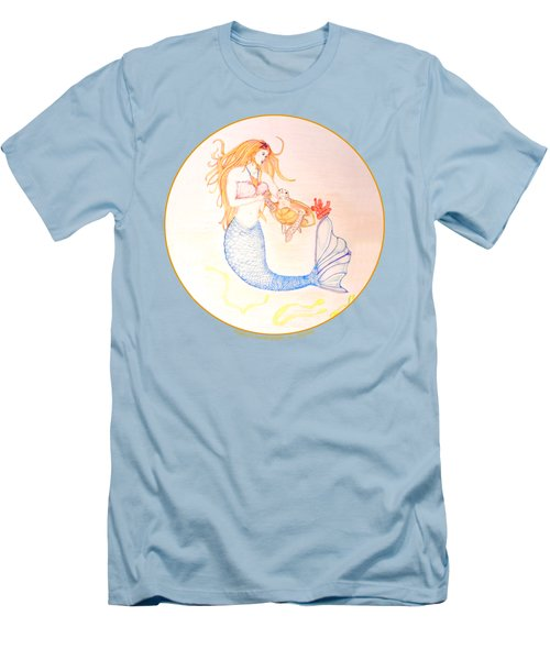 Mermaid Men's T-Shirt (Slim Fit) by M Gilroy