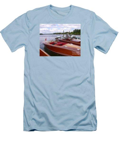 Chris Craft Custom Men's T-Shirt (Athletic Fit)