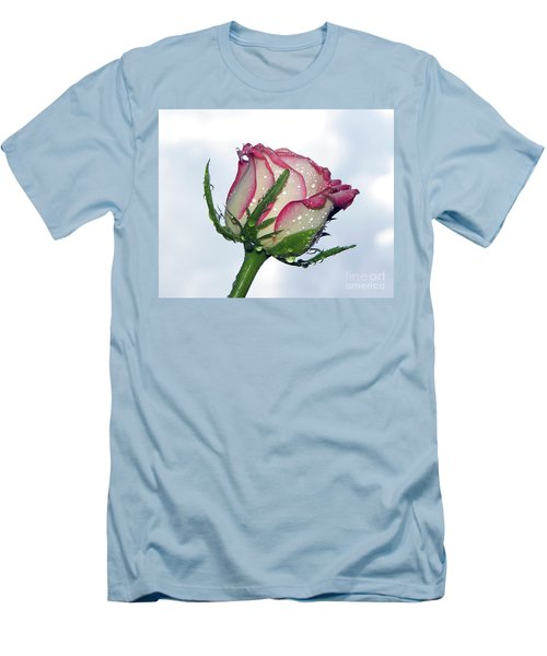 Beautiful Rose Men's T-Shirt (Athletic Fit)