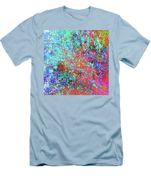 Abstract Composition Men's T-Shirt (Athletic Fit)
