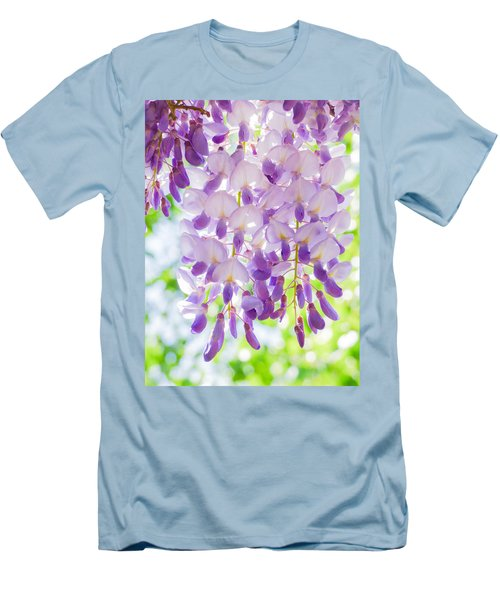 A Bright Sunshiny Day  Men's T-Shirt (Athletic Fit)
