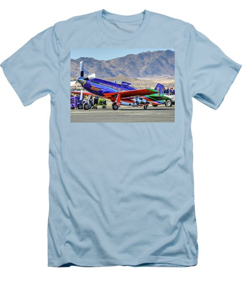 A Closer Look At Voodoo Engine Start Sundays Unlimited Gold Race Men's T-Shirt (Athletic Fit)