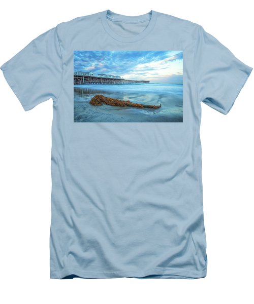 A Crystal Morning Men's T-Shirt (Slim Fit) by Joseph S Giacalone