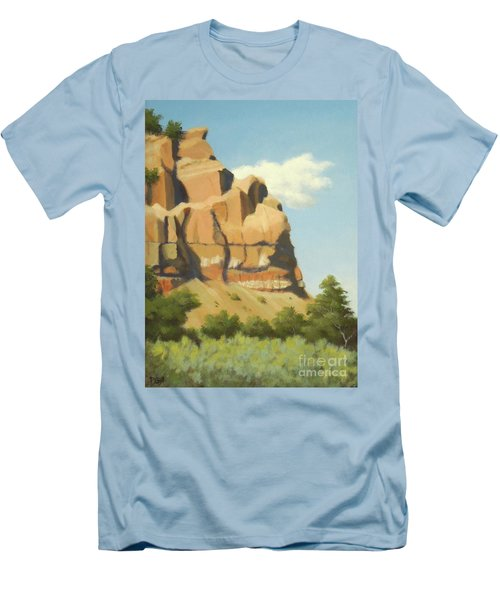 A Face In New Mexico Men's T-Shirt (Athletic Fit)