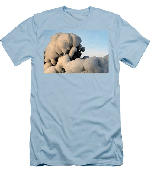 A Lick Of Snow On The Bush Men's T-Shirt (Athletic Fit)