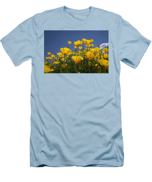 A Little Sunshine  Men's T-Shirt (Slim Fit) by Lucinda Walter