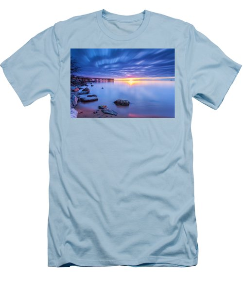 Men's T-Shirt (Slim Fit) featuring the photograph A New Dawn by Edward Kreis