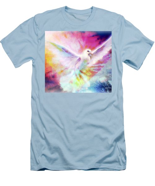 A Peace Dove Men's T-Shirt (Athletic Fit)