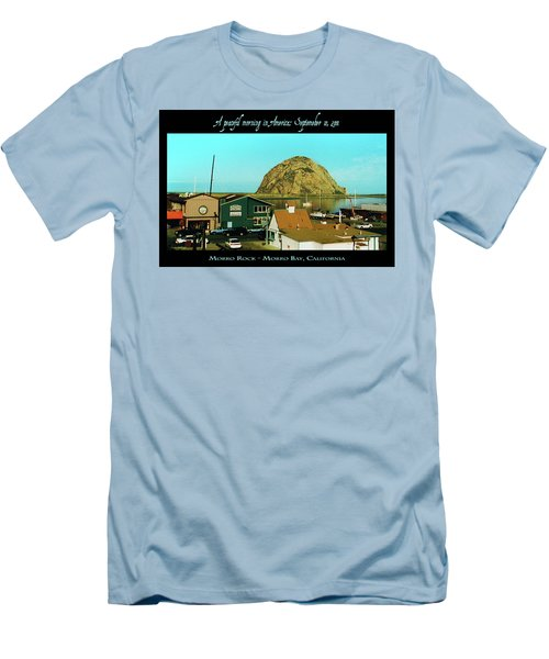 A Peaceful Morning In America 9-10-01 Men's T-Shirt (Athletic Fit)
