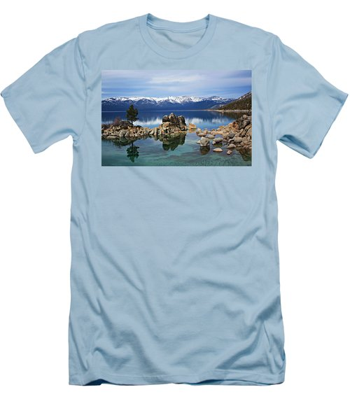 Men's T-Shirt (Athletic Fit) featuring the photograph A Place To Call Home by Sean Sarsfield