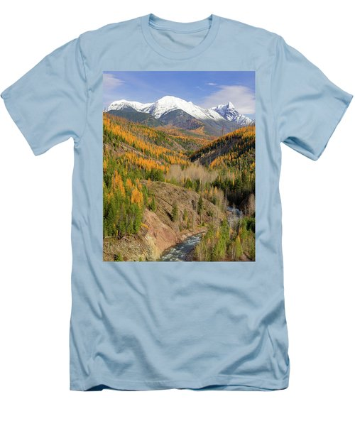 A River Runs Through It Men's T-Shirt (Slim Fit) by Jack Bell