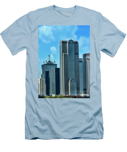 A Slice Of Dallas Men's T-Shirt (Athletic Fit)