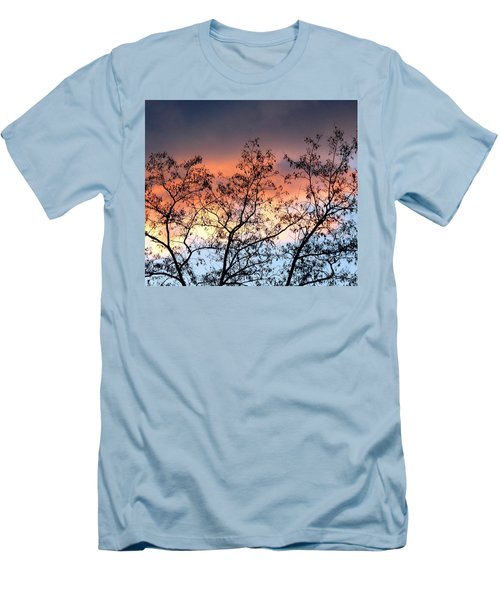 Men's T-Shirt (Slim Fit) featuring the photograph A Splendid Silhouette by Will Borden