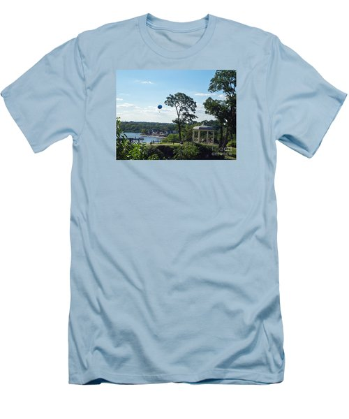 Men's T-Shirt (Slim Fit) featuring the photograph A Summer Day by Lyric Lucas