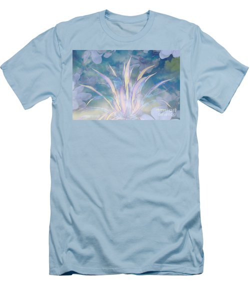 A Touch Of Spring Men's T-Shirt (Slim Fit) by Sherri's Of Palm Springs