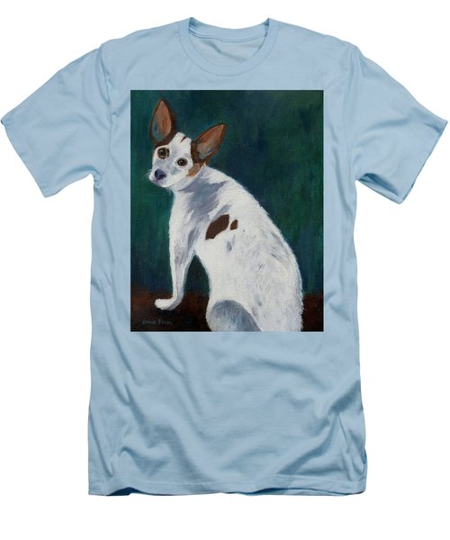 Men's T-Shirt (Athletic Fit) featuring the painting Abby by Jamie Frier