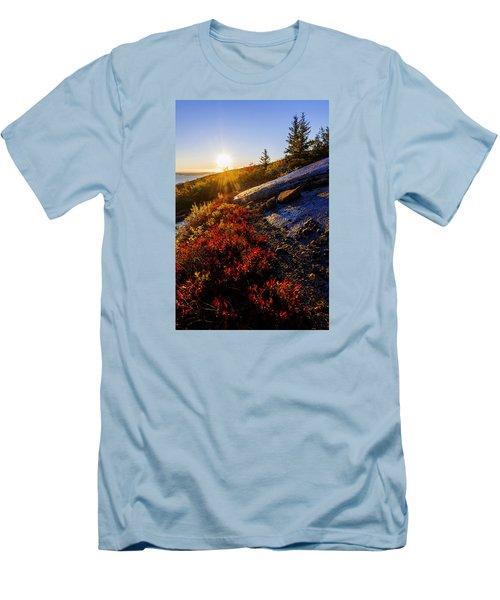 Above Bar Harbor Men's T-Shirt (Athletic Fit)