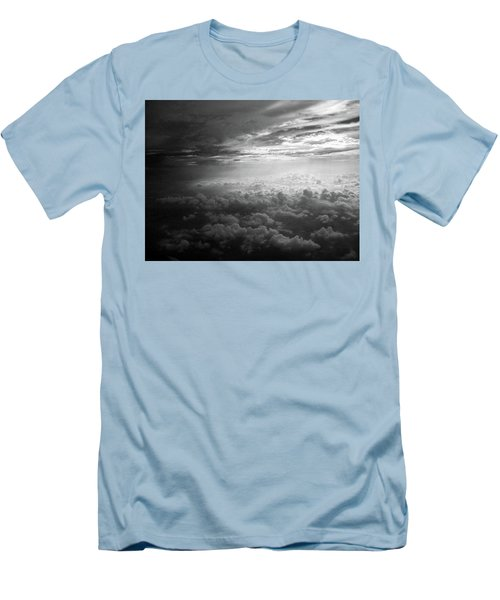 Above Earth 3 Men's T-Shirt (Athletic Fit)