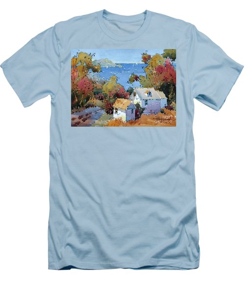 Above The Pacific Men's T-Shirt (Athletic Fit)