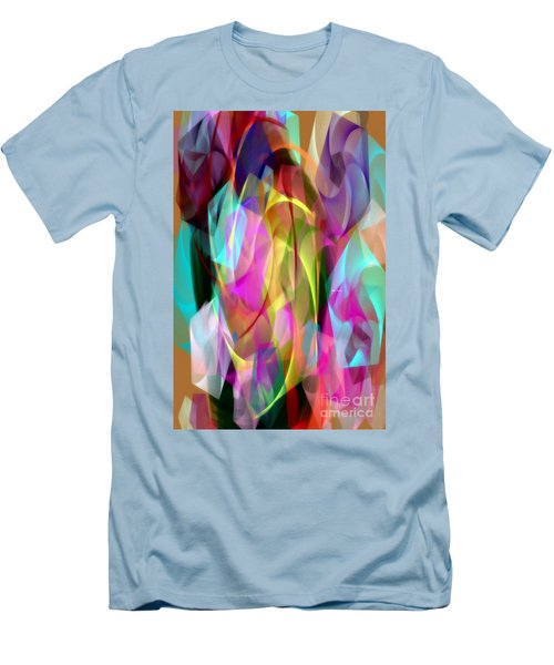Men's T-Shirt (Athletic Fit) featuring the digital art Abstract 3366 by Rafael Salazar