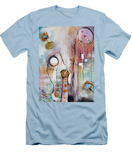 Abstract 39 Men's T-Shirt (Slim Fit) by Karin Husty